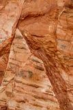 Modello di pietra di struttura del fondo della roccia fotografia stock