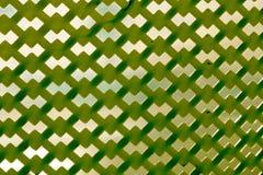 Modello di plastica verde Fotografia Stock