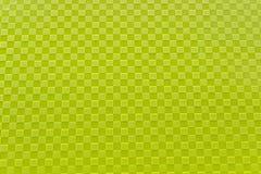 Modello di plastica verde come fondo Fotografia Stock Libera da Diritti