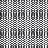Modello di pois grigio e bianco, fondo senza cuciture illustrazione di stock