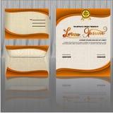 Modello di progettazione del certificato royalty illustrazione gratis