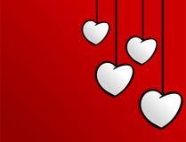 Modello di progettazione del cuore Immagini Stock