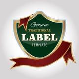 Modello di progettazione dell'etichetta royalty illustrazione gratis