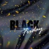 Modello di progettazione dell'insegna di vendita di Black Friday Royalty Illustrazione gratis