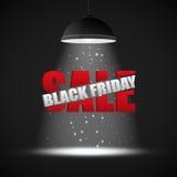 Modello di progettazione dell'iscrizione di vendita di Black Friday Immagine Stock Libera da Diritti