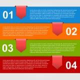 Modello di progettazione di Infographics. Fotografie Stock