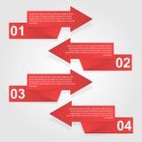 Modello di progettazione di Infographics. Immagini Stock