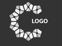 Modello di progettazione di logo di affari, simbolo, progettazione di vettore Immagine Stock