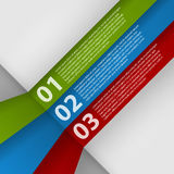 Modello di progettazione moderna infographic Immagine Stock