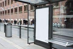 Modello di pubblicità Fotografia Stock Libera da Diritti