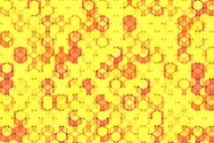 Modello di puzzle del cubo royalty illustrazione gratis