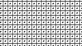 Modello di rettangolo checkred monocromio Immagini Stock