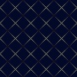 Modello di rettangolo del punto Fondo geometrico di vettore nel semitono Immagine Stock