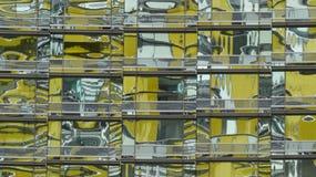 Modello di riflessione della finestra Fotografie Stock