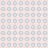Modello di ripetizione della carta da parati floreale Immagini Stock