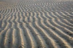 Modello di sabbia di mare Fotografie Stock Libere da Diritti