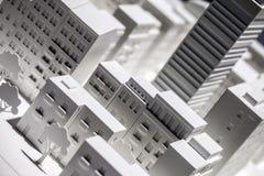 Modello di scala Building Fotografia Stock Libera da Diritti