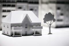 Modello di scala Building Fotografie Stock
