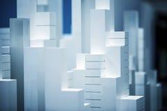 Modello di scala Building Immagine Stock Libera da Diritti