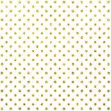 Modello di scintillio dell'oro Scintillio Dots White Background Strutture di scintillio Immagine Stock
