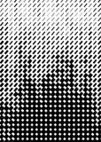 Modello di semitono Formato della copertura A4, modello per il manifesto Immagine Stock Libera da Diritti