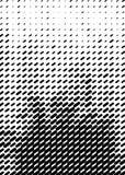 Modello di semitono Formato della copertura A4, modello per il manifesto Fotografia Stock Libera da Diritti