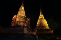 Modello di Sukothai della pagoda Fotografia Stock