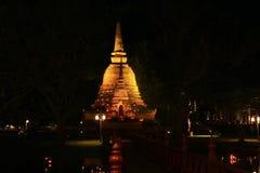 Modello di Sukothai della pagoda Immagini Stock Libere da Diritti