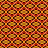 Modello di superficie senza cuciture di stile africano con le figure astratte Forme geometriche luminose di griglia etnica e trib royalty illustrazione gratis