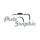Modello di tema di fotografia Immagini Stock