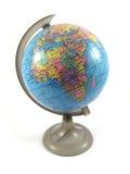 Modello di terra del globo Fotografia Stock Libera da Diritti