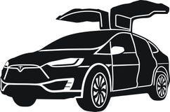 Modello X di Tesla immagini stock