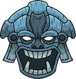 Modello di Tiki secondo della maschera Immagine Stock Libera da Diritti