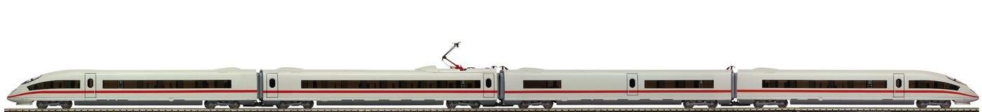 Modello di un treno elettrico fotografie stock