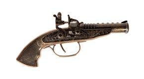 Modello di vecchia pistola Fotografia Stock Libera da Diritti