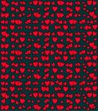 Modello di vettore del cuore Immagini Stock