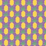 Modello di vettore dell'ananas Immagine Stock Libera da Diritti
