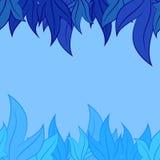 Modello di vettore delle foglie Immagine Stock Libera da Diritti