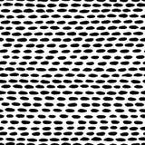 Modello di vettore fatto delle linee tratteggiate imprecise illustrazione vettoriale