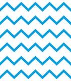 Modello di vettore di zigzag Linee blu su fondo bianco Illustrazione semplice ed alla moda illustrazione vettoriale