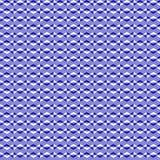 Modello di vettore di zigzag Linee intermittenti blu e bianche Illustrazione semplice ed alla moda illustrazione di stock