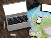 Modello di viaggio di affari del modello Immagine Stock Libera da Diritti