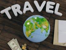 Modello di viaggio di affari del modello Fotografia Stock Libera da Diritti