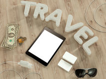 Modello di viaggio di affari del modello Fotografia Stock