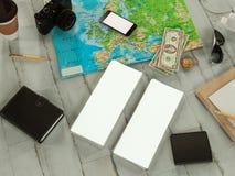 Modello di viaggio di affari del modello Fotografie Stock Libere da Diritti