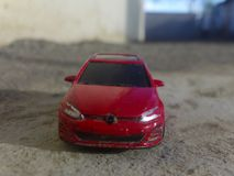 Modello di Volkswagen Golf Mk5 2016 fotografia stock
