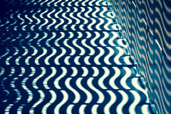 Modello di Wave con luce ed ombra Immagine Stock Libera da Diritti