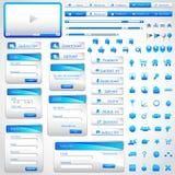 Modello di Web Fotografie Stock
