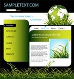 Modello di Web site Fotografia Stock Libera da Diritti