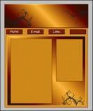 Modello di Web site Immagine Stock